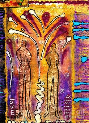 Bonding Mixed Media - A Glorious Bond by Angela L Walker