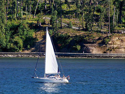 Photograph - A Good Day For Sailing by Judy Wanamaker