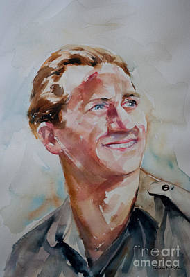 Painting - A Great Man by Barbara McMahon