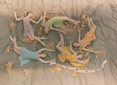 A Group Of Dancers Perform Art Print by J Baylor Roberts