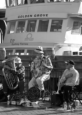 Photograph - A Harbor Concert by Tia Anderson-Esguerra