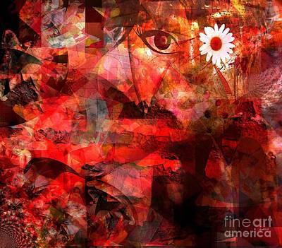 A Healing Testimony Art Print by Fania Simon