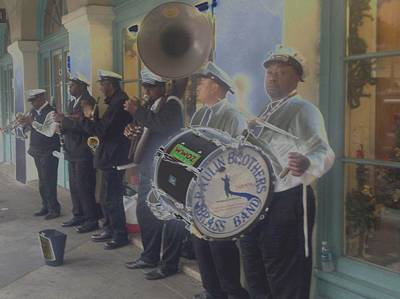 Photograph - A Jazzy Night In New Orleans by Catherine Kurchinski