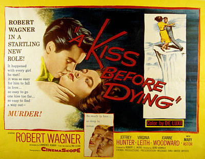 Fid Photograph - A Kiss Before Dying, Robert Wagner by Everett
