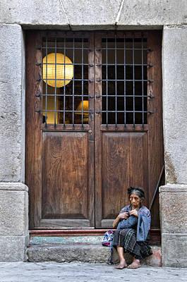 Old Photograph - A La Entrada by Francesco Nadalini