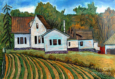 Indiana Landscapes Painting - A Little More Room by Charlie Spear