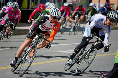 Tour Of The Gila Photograph - A Little To The Left by Vicki Pelham