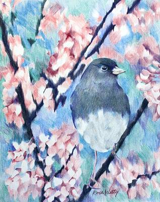 A Lovely View Art Print by Rose Welty