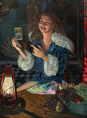 Occult Painting - A Lovers Closet by Fremont Thompson