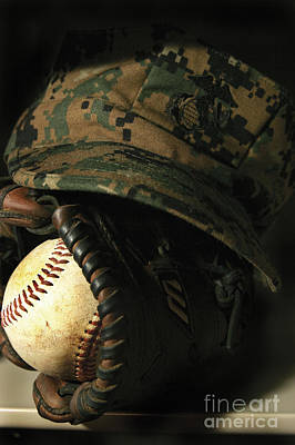 Athletes Royalty-Free and Rights-Managed Images - A Marines Athletic Gear by Stocktrek Images