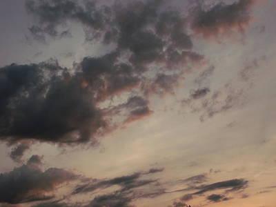 A Mellow Sunset Art Print