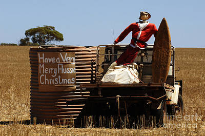 A Merry Aussie Christmas Art Print