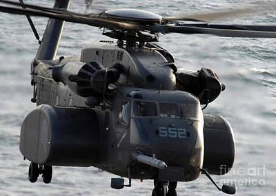 A Mh-53e Sea Stallion Art Print by Stocktrek Images