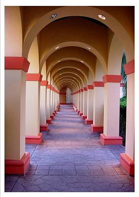 A Most Pleasant Passageway Art Print by Frank Wickham