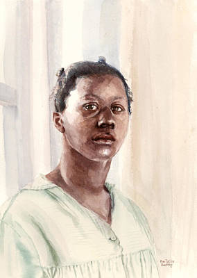 Negro Painting - A Motherless Child by Mimi Boothby