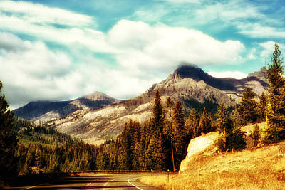 Photograph - A Mountain Drive by Kelly Reber