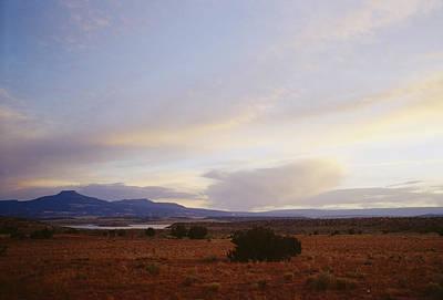 Jemez Mountains Photograph - A Mountain Range In New Mexico by Raul Touzon