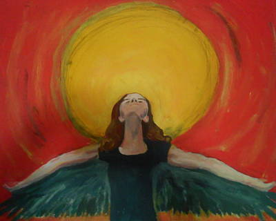 Soaring Painting - A New Day Has Come by Casey Bingham