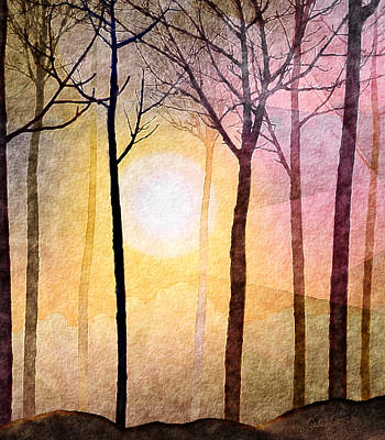 Sun Rays Mixed Media - A New Day by Kimberlee Fiedler
