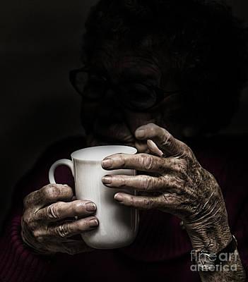 A Nice Cup Of Tea Print by Avalon Fine Art Photography