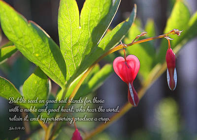 Soil Digital Art - A Noble And Good Heart by Geoff Strehlow