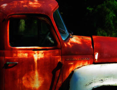 Old Trucks Photograph - A Painting Of Rust  by Steven Digman