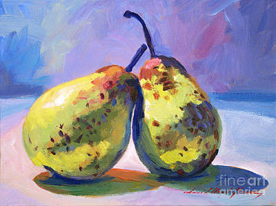 A Pair Of Pears Art Print