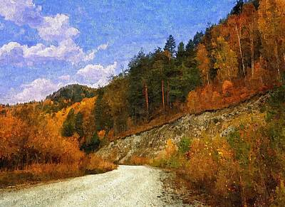 Painting - A Path Of Solitude by Lynda K Cole-Smith