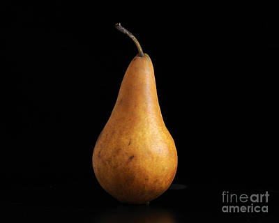 Photograph - A Pear by Nancy Greenland