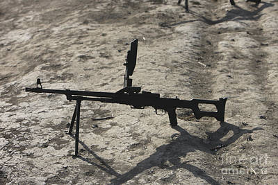 A Pk 7.62 Mm General-purpose Machine Art Print by Terry Moore