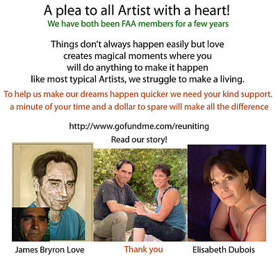 Photograph - A Plea To All Artists by Elisabeth Dubois