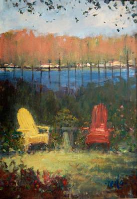 Painting - A Polasek Welcome by Berto Ortega