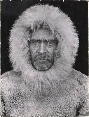 Northwest Territories Photograph - A Portrait Of Robert E. Peary by Robert E Peary