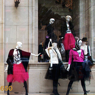 Photograph - A Posse Of Mannequins by Cornelis Verwaal