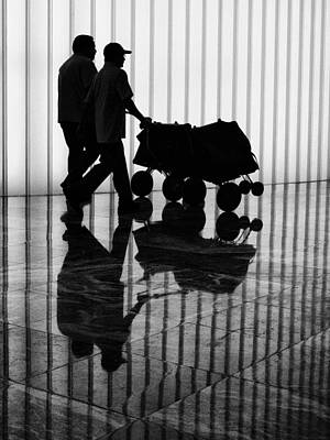 Photograph - A Postal Silhouette by Cornelis Verwaal