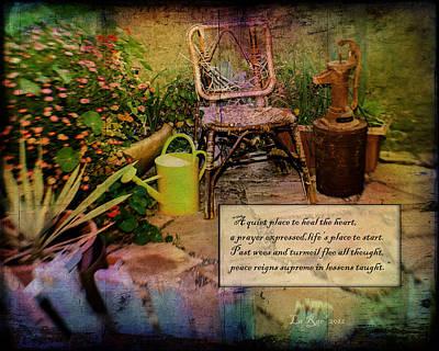A Prayer Expressed Art Print