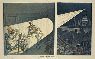 A Pro-democratic 1912 Election Year Art Print