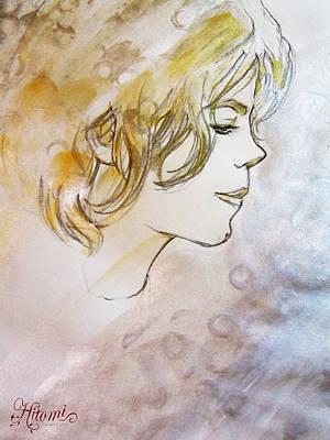 A Pure Being Art Print by Hitomi Osanai