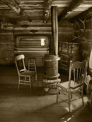 Photograph - A Quite Piano Sepia by Ken Smith