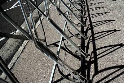 Photograph - A Rack Of Shadows by Ric Bascobert
