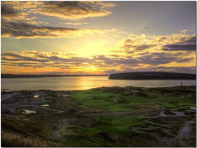 Us Open Photograph - A Renewed View - Chambers Bay Golf Course   by Chris Anderson