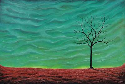 Large Painting - A Rhapsody Recalled by Rachel Bingaman