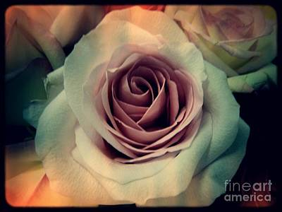 My Space Digital Art - A Rose by Angela Wright