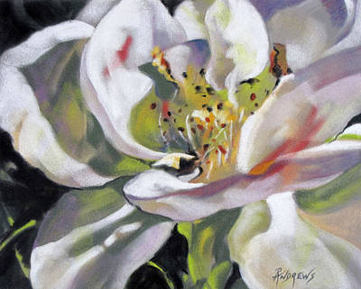 Art Print featuring the painting A Rose By Any Other Name by Rae Andrews