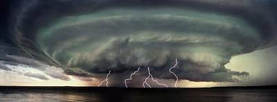 A Severe Storm Art Print by Don Hammond