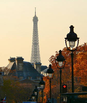 Art Print featuring the photograph A Slice Of Paris by Eric Tressler
