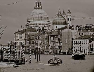A Slice Of Venice Art Print by Eric Tressler