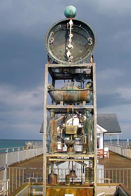 A Slightly Rude Water Clock Art Print by Rod Jones