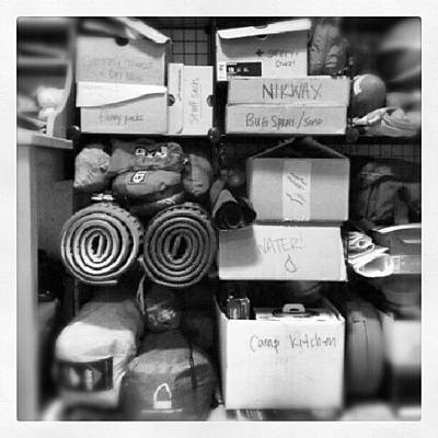 Gears Photograph - A Small Section Of My #gear Shelf. Who by Seth Yates