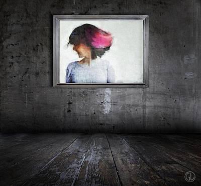 A Smile Can Brighten Up A Dark Room Art Print by Gun Legler